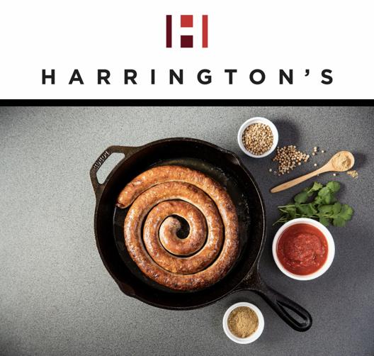 Harrington's Smallgoods Brand Relaunch